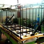 Fabrication de rambarde de balcon